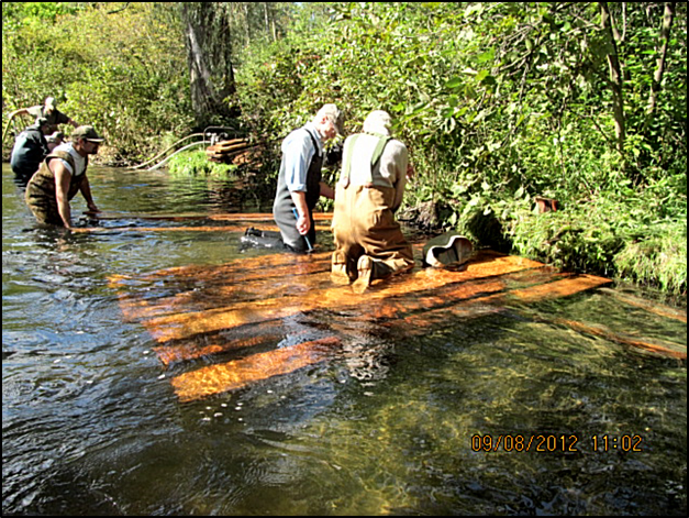 White River Steelheaders restoration work